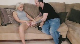 Horny Sister Talks Brother Into Taboo Fun