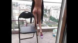 Orgasms On The Balcony
