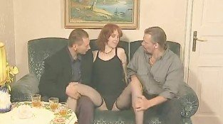 STP Madame Watches Her New Recruit Have Her 1st Threesome !