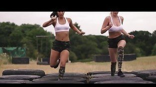 Military whores are getting some extra lessons